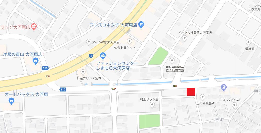 島貫邸 地図